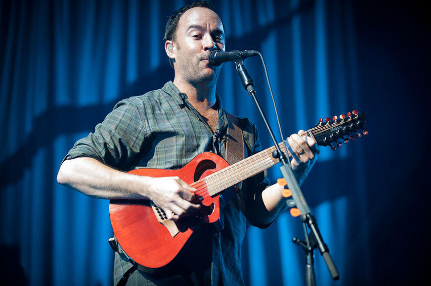 Dave Matthews at the Gexa Energy Pavilion in Dallas, TX on May 18, 2013.