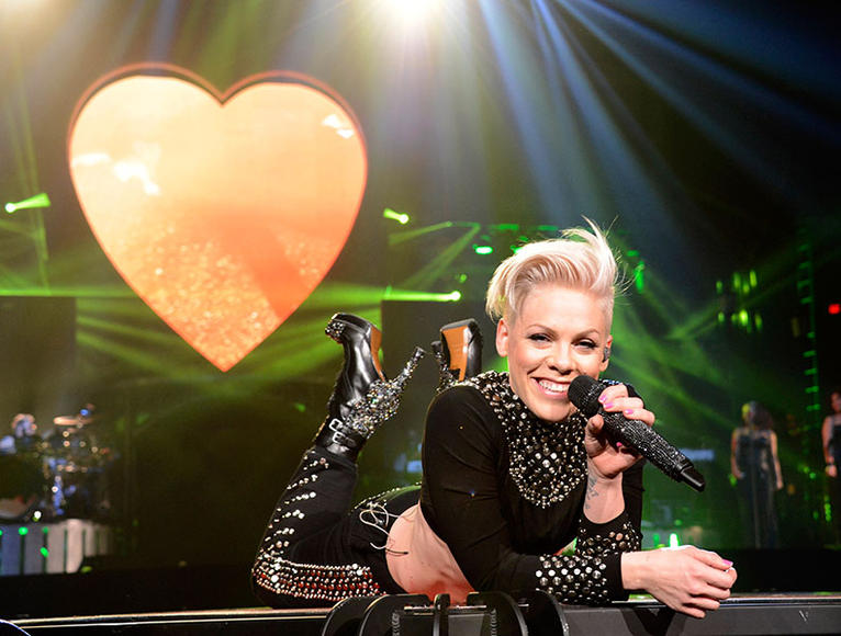Pink at the US Airways Center in Phoenix, AZ on February 13, 2013.