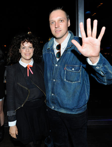 BE MINE: Regine Chassagne and Win Butler of Arcade Fire