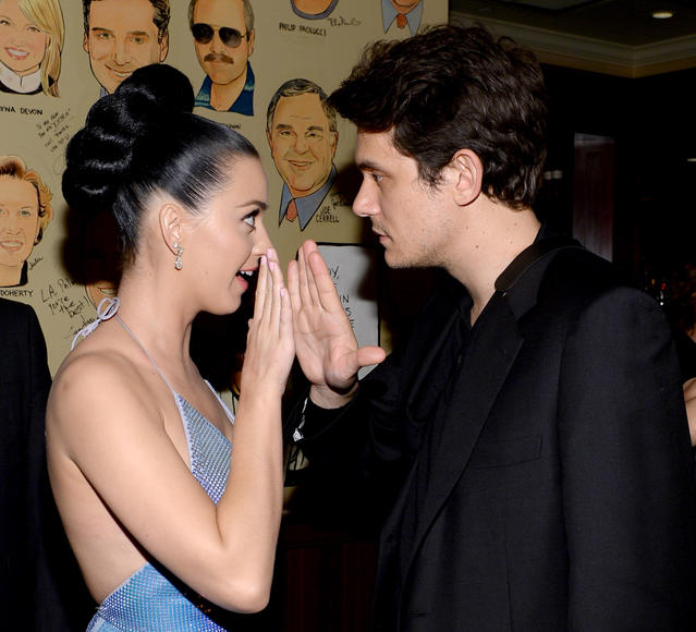 HIGH FIVE: Katy Perry and John Mayer