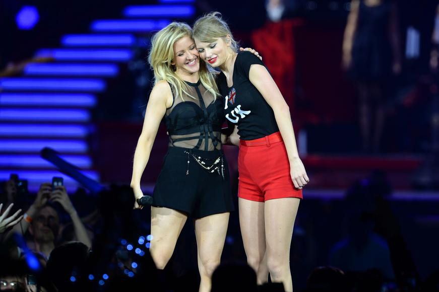 Taylor Swift and Ellie Goulding