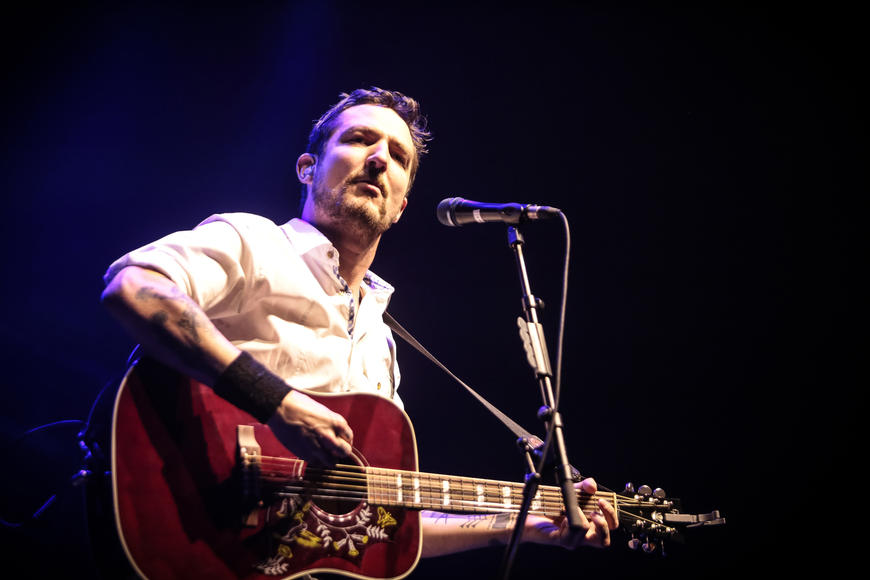 Frank Turner: We want Frank to be our boyfriend. Or roommate. Drinking partner, definitely. But we're happy to dance to his spirited, folk-punky songs. For now.