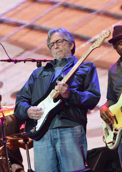 Eric Clapton: He is ranked SECOND in Rolling Stones 100 Greatest guitarists of all time. OF. ALL. TIME.