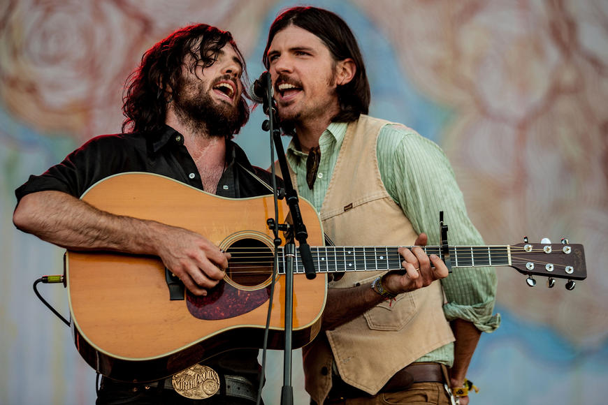 The Avett Brothers: This duo tells beautiful, harmonious stories through song. Watch, listen and be moved.