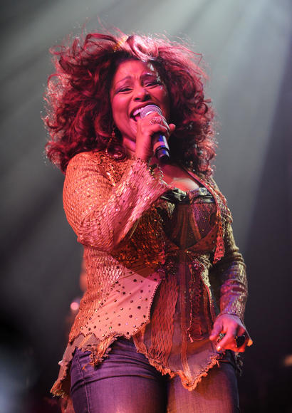Chaka Khan: Because afterwards, you can say you've seen Chaka Khan.