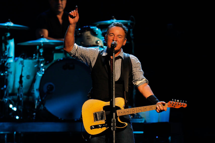Bruce Springsteen: The Boss. Are you really going to miss The Boss? Don't disappoint your parents.