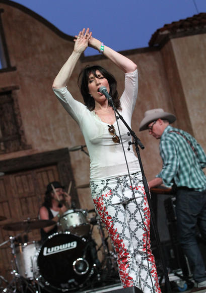 Katey Sagal & the Forest Rangers: The house band on the TV show Sons of Anarchy, they've been together for ages but only started playing live shows in the last year.