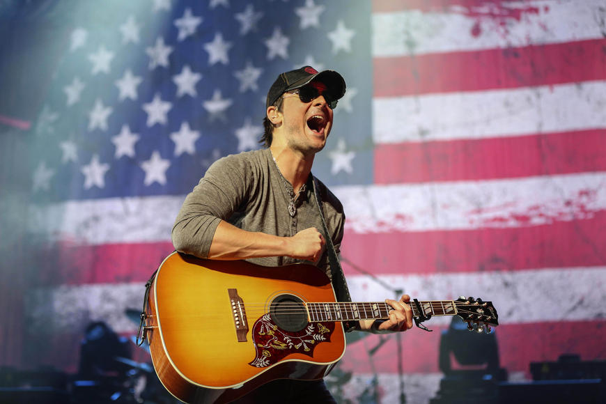 Eric Church: Country music's new bad boy defies conventions by mixing fist-pumping anthems and booze-drenched ballads. You ready for that roller coaster of emotions?