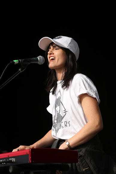 The Preatures: These Aussies at were our favorite act at CMJ. The singer channels Patti Smith/Stevie Nicks but we have a feeling that someday, up-and-comers will channel her.