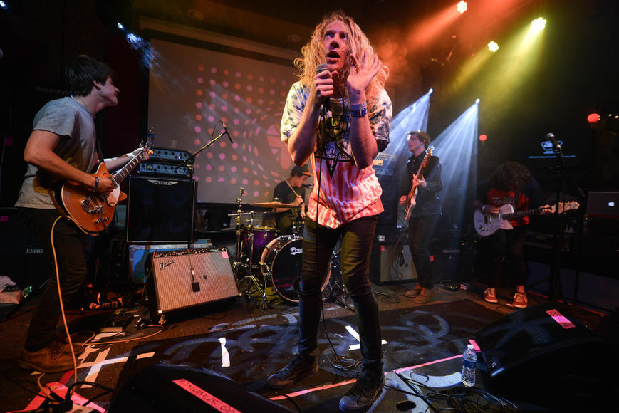 The Orwells: These Chicago garage-punks made their network TV debut on Letterman this year. Dave liked 'em so much he demanded an encore.