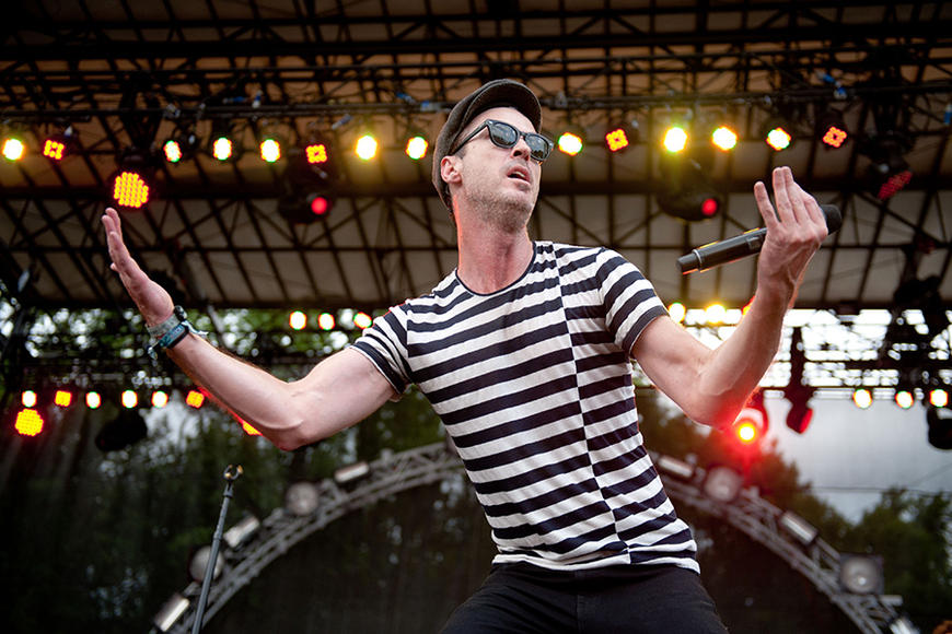 Fitz and the Tantrums: Almost guaranteed to be the best-dressed band at the festival, and the catchy music ain't exactly a downside.