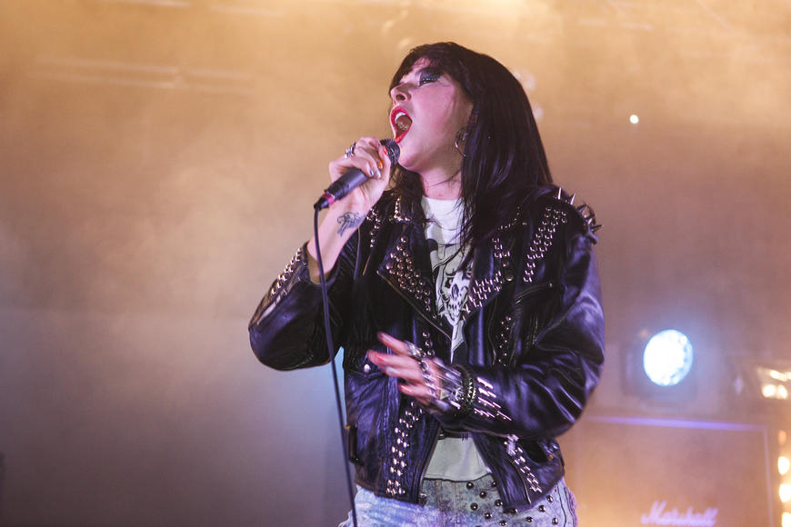Sleigh Bells: One guy.  One girl.  A lot of weird sounds.  But totally different from that loud couple in the apartment upstairs, trust us.