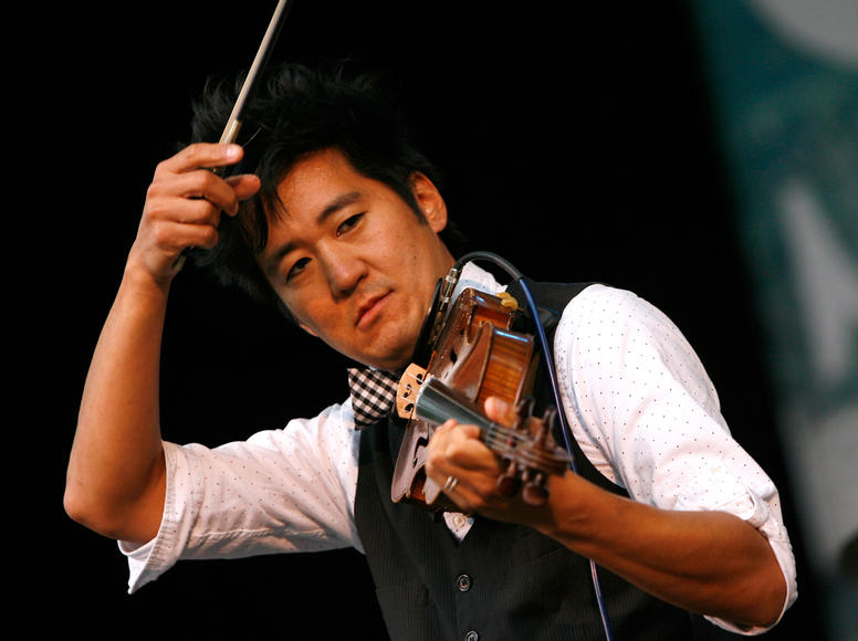 Kishi Bashi: Violin virtuoso. At a rock festival. You've gotta see Kishi Bashi's set to believe it.