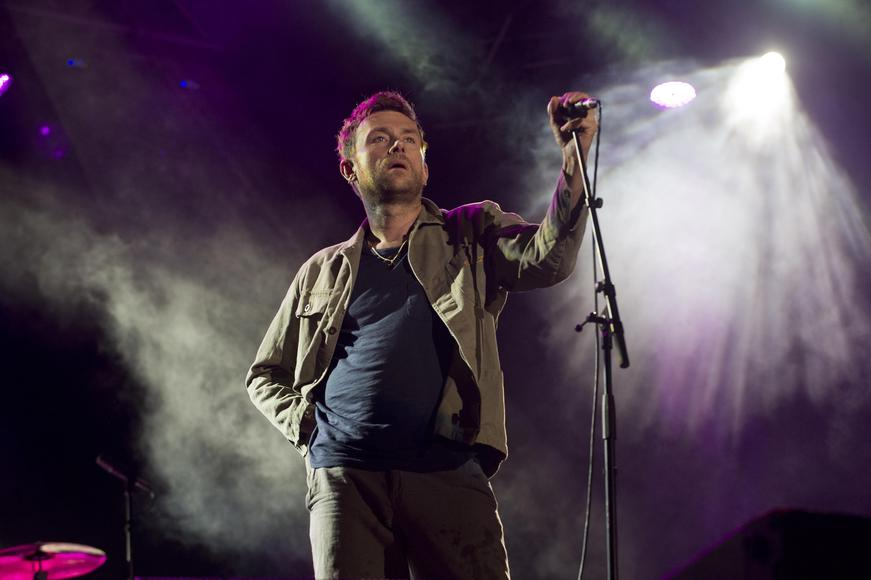 Damon Albarn: Watch his solo performance because other times you may have seen him it was all just a Blur.  (Live Nation will not be held responsible for the quality of puns in this or any other gallery.