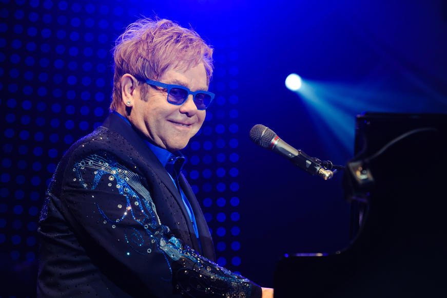 Elton John: What, you need a reason other than his storied career, vocal talent, musicianship and guaranteed amazing costuming? Really? Then I'm sorry, I can't help you.  You're hopeless.