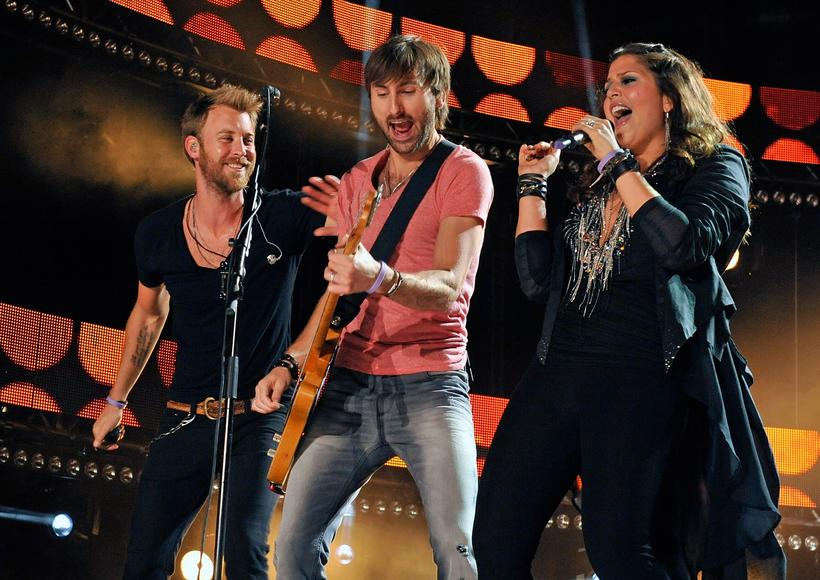 "Lady Antebellum: ""It's a quarter after one, I'm a little drunk and I need food now."" No, those aren't the real lyrics to this band's biggest hit, but they are similarly universal."