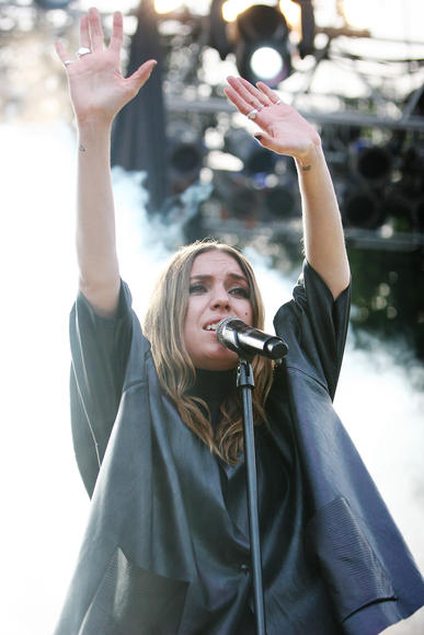 Lykke Li: Considering her music has been featured in commercials, television shows and movies, odds are you've heard a Lykke Li track in the past.  Even if you aren't sure what the track was. Or how you actually pronounce her name.  Squamish is a great chance to put all the pieces together.