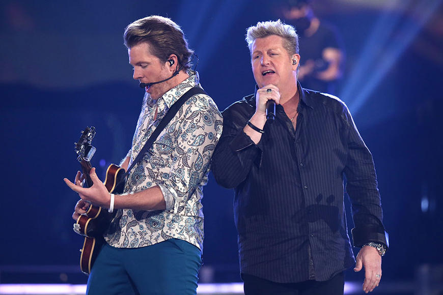 Rascal Flatts & Joe Don Rooney at ACM Fan Jam