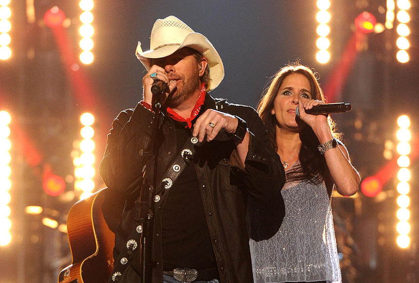 Toby Keith & Mica Roberts
