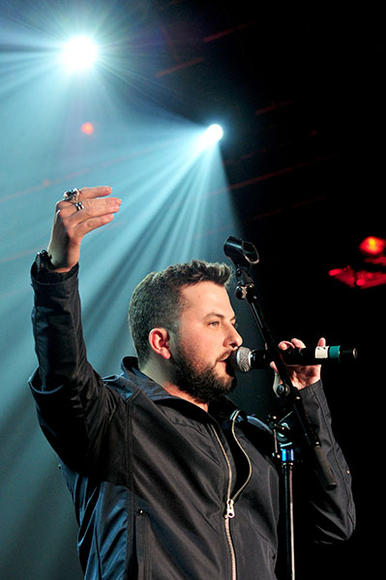Tyler Farr at ACM All Star Jam