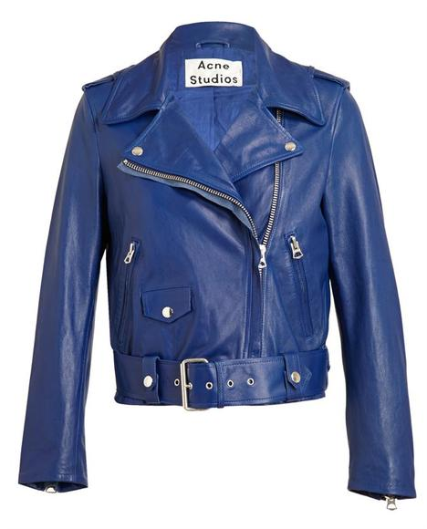 Motorcycle Jacket: From the Ramones to Motley Crüe to Sex Pistols, a leather biker jacket is practically uniform – cover up while still exuding 'tude.