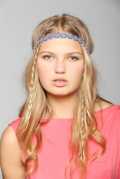 Headband: A hippie-chic headband is a perfect way to keep your mane in place while you dreamily sway to power ballads.
