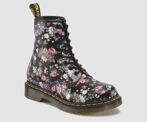 Doc Martens: Timeless, rugged and utilitarian (your feet are protected in a mosh pit thanks to Docs' steel toe), get a classic black 14-eye pair and BAM! You're a badass.
