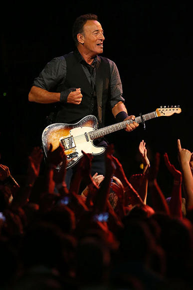 """Artist: Bruce Springsteen. Song to dedicate to her: """"The Wish"""""""