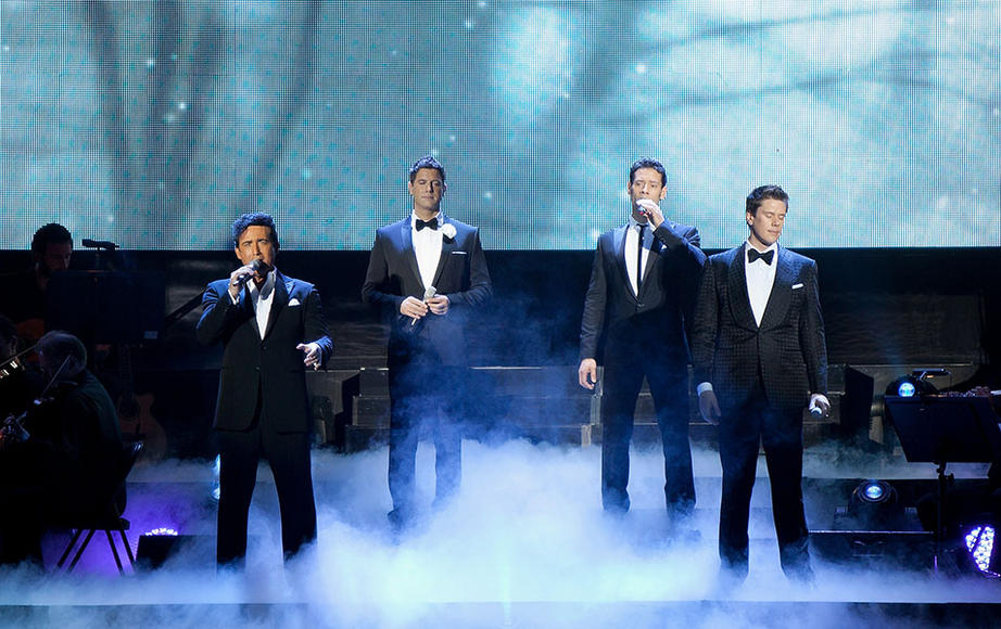 "Artist: Il Divo. Song to dedicate to her: ""Mama"""