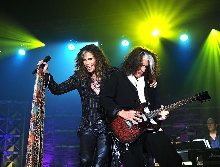 "Artist: Aerosmith. Song to dedicate to her: ""Mama Kin"""