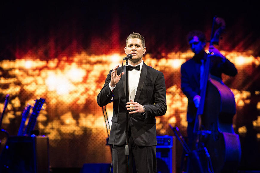 """Artist: Michael Bublé. Song to dedicate to her: """"Young at Heart"""""""