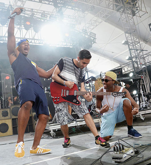 Rudimental: During this British group's set, prepare to feel the drum, the bass and, yes, the love.  And they'll throw in the trumpet for free!