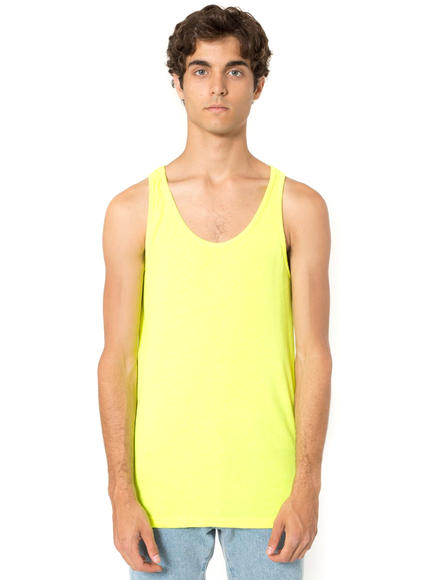 Colorful tank: Comfortable, yet colorful, and your arms are free to sway/pump/high five the night away.
