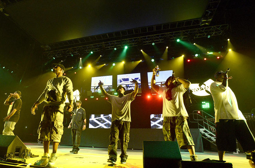Wu-Tang Clan: Look, this legendary hip hop group gives you one very, very compelling reason to check out their mainstage set: after all these years, Wu-Tang Clan still ain't nuthing ta f' with.