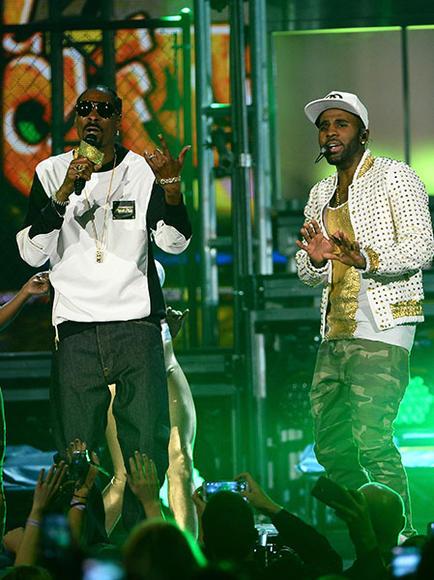 Snoop Dogg and Jason Derulo
