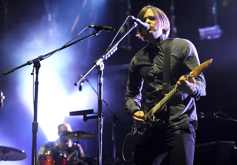 Death Cab for Cutie: The best part about Death Cab for Cutie playing this festival?  If you get your heart broken, just go hang out at the stage while they play. Nobody will notice your tears, they'll be too busy with their own.