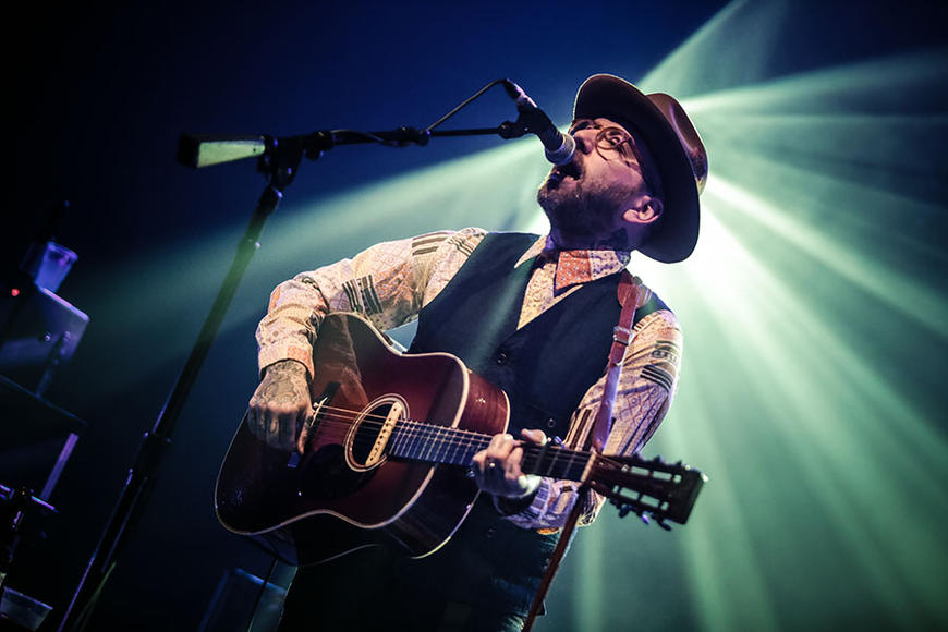 City and Colour: Dallas Green's solo project is a world away from his history with Alexisonfire: stripped down singer-songwriter fodder to calm you down when you need it. And odds are, you'll need it.
