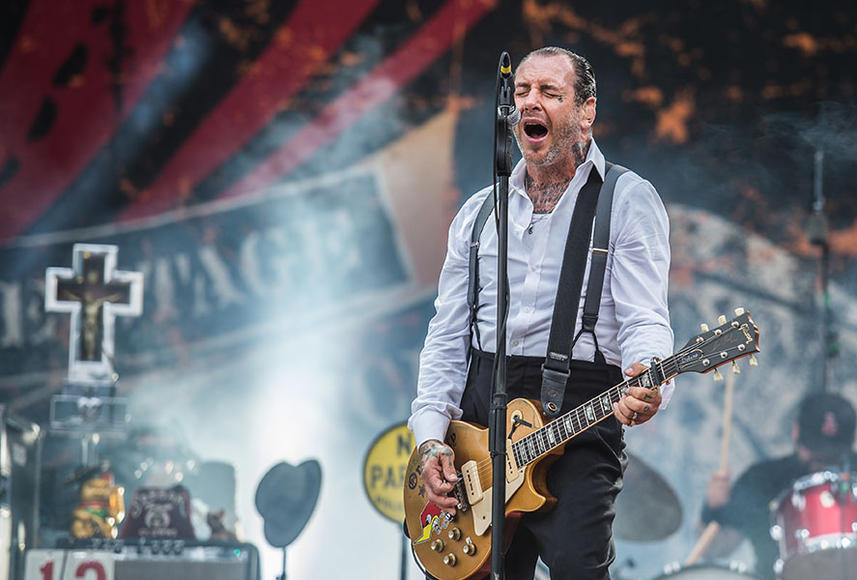 Social Distortion: You'd think after all these years Mommy's Little Monster would have grown out of it, but Social Distortion is still going as hard as ever.  With an 8th studio album due out in 2014, they're not afraid to prove that some things just get better with age.