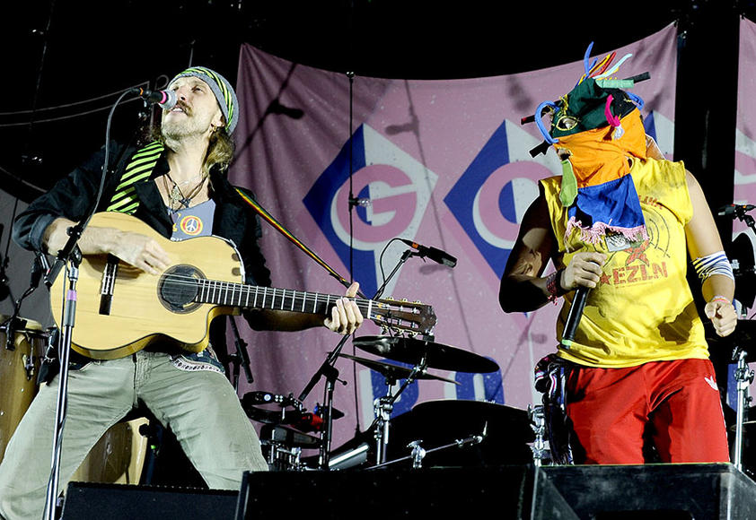 Gogol Bordello: Fiddles & accordions & head scarves & a mustache you're not likely to forget are just a few reasons to catch these gypsy punks live.  Another reason? They're gypsy punks!