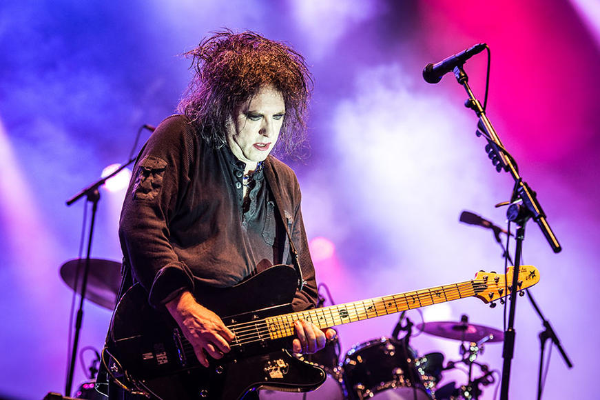 "The Cure: ""Whenever I'm alone with you, you make me feel like I am clean again.""  If that's the case, Robert Smith, we want your tips on how to get black eyeliner off.  We'll hit you up after the show, if that's cool."