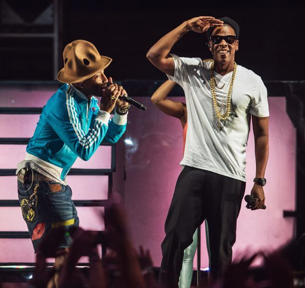 Pharrell at Coachella feat. special guest JAY Z