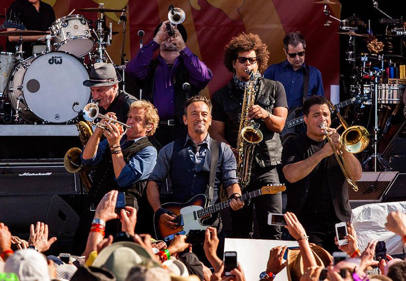 Bruce Springsteen at NOLA Jazz Festival