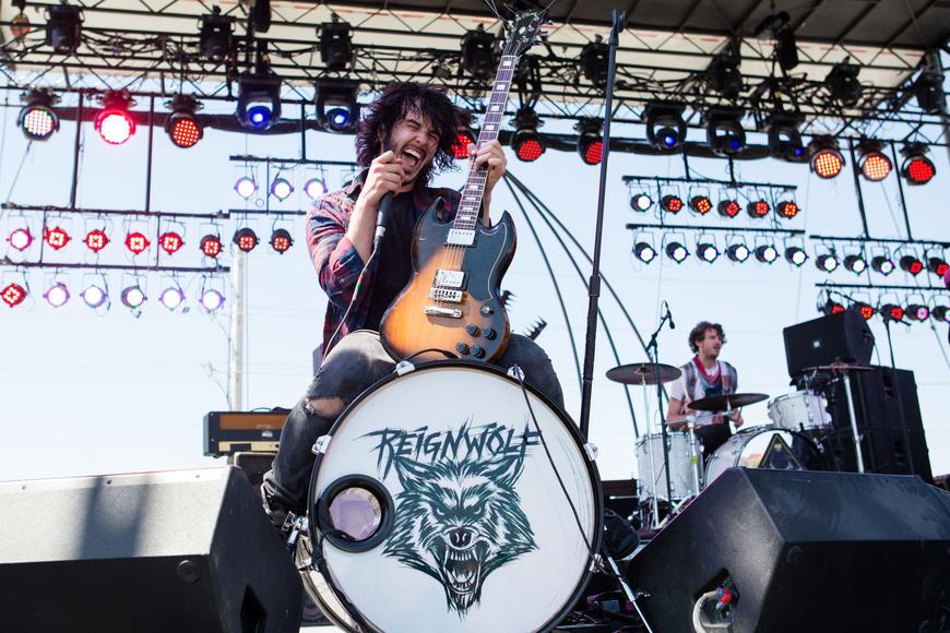 Reignwolf at Hangout Music Festival