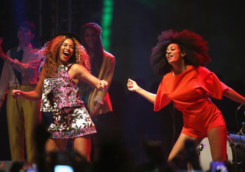 Solange at Coachella feat. special guest Beyoncé