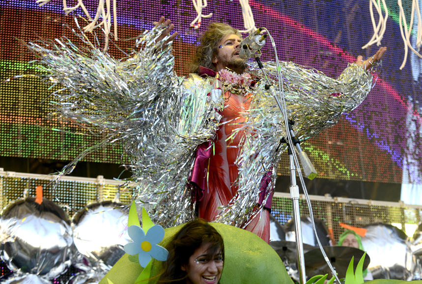 The Flaming Lips at Hangout Music Festival