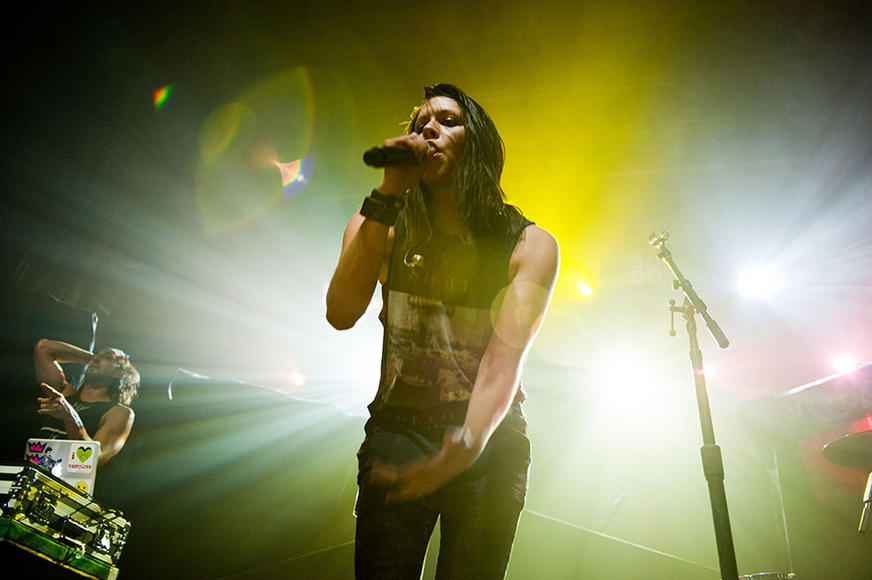 "K.Flay: You might think, ""What could a suburban-born Stanford grad POSSIBLY rap about?"" It turns out A LOT—from human rights to wishing *NSYNC would reunite, this femcee spits fire."