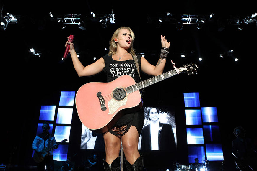 Miranda Lambert: Country's blond badass puts on a hell of a no-frills show. This girl and her guitar are the only things necessary for a show worth seeing.