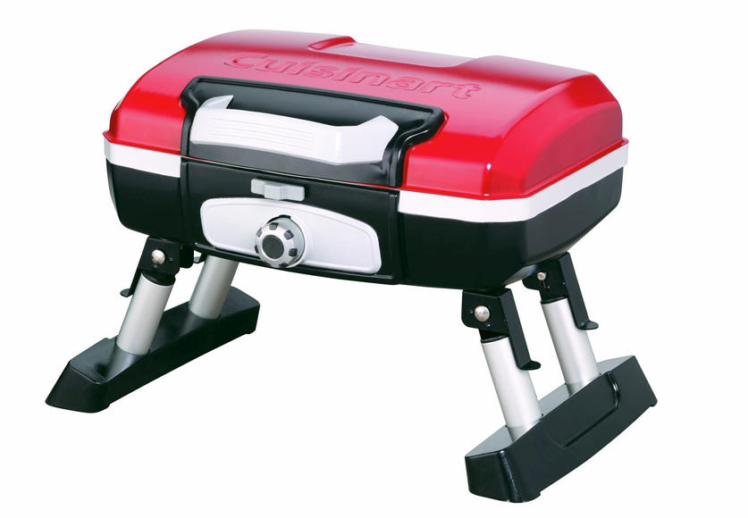 Cuisinart petit gourmet portable gas grill: Don't let the size fool you, take your grill on the go!