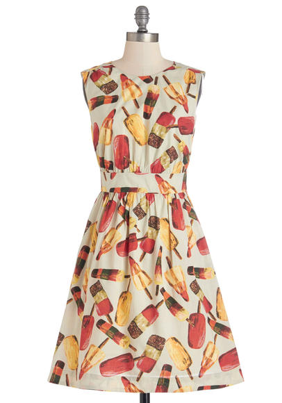 Popsicle dress: Stay cool in this sweet dress.