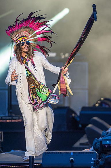 Aerosmith at Download Festival